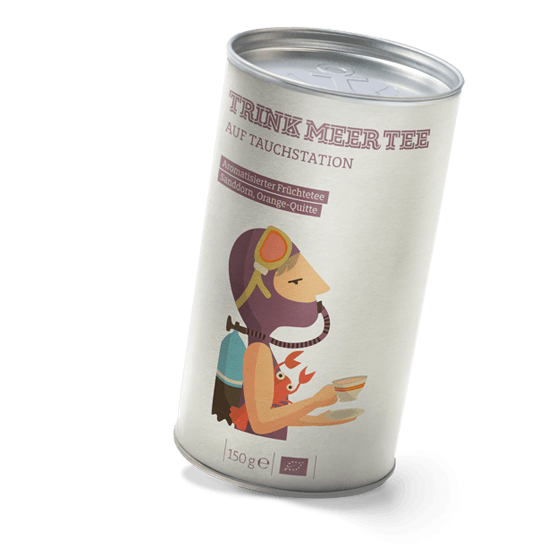 Sandorn-Quitte Früchtetee
