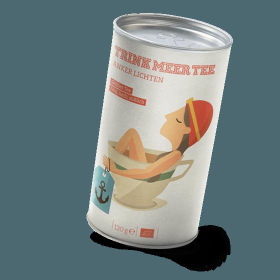 Bio Tee Anker lichten