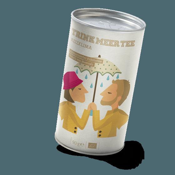 Bio-Kräutertee mit Salz