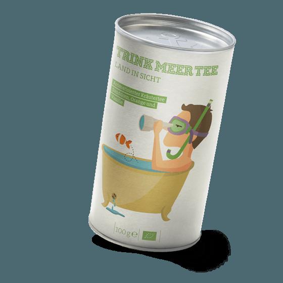Kräuter-Bio-Tee Land in Sicht
